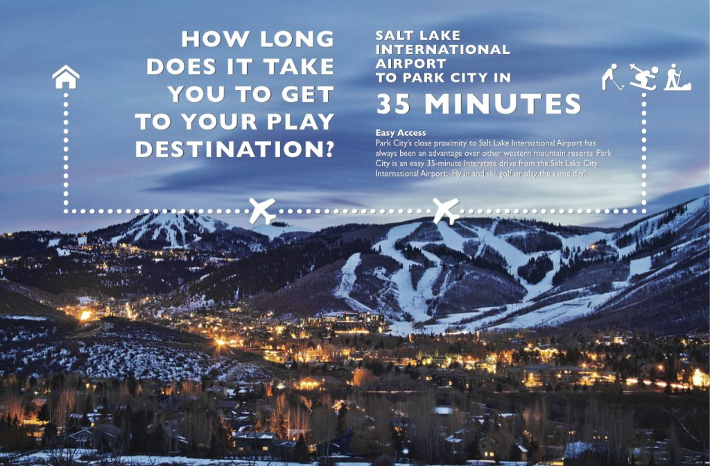 35 Minutes from SLC Airport to Park City