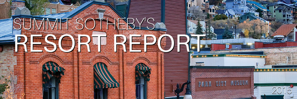 Summit Sotheby's Resort Report for Park City, Vail, etc.